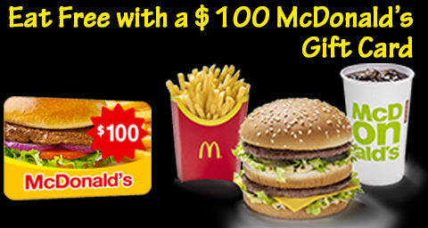 mcdonalds gift cards