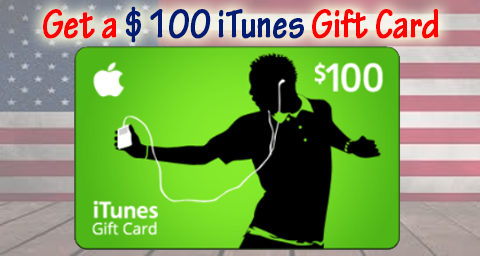 itunes gift card usa