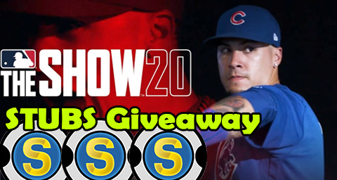 Free Stubs MLB The Show 20